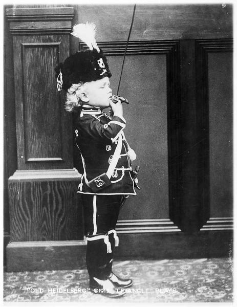 Le prince Karl à l'âge de 5 ans (F. Carpenter)