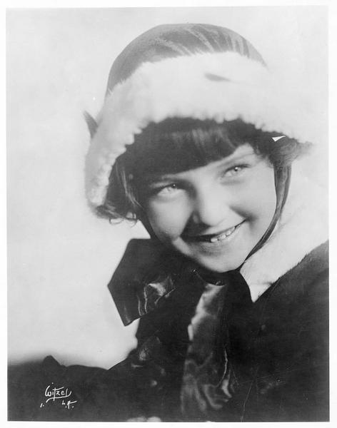 Portrait de Marie Osborne enfant