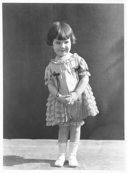 Portrait de Baby Peggy