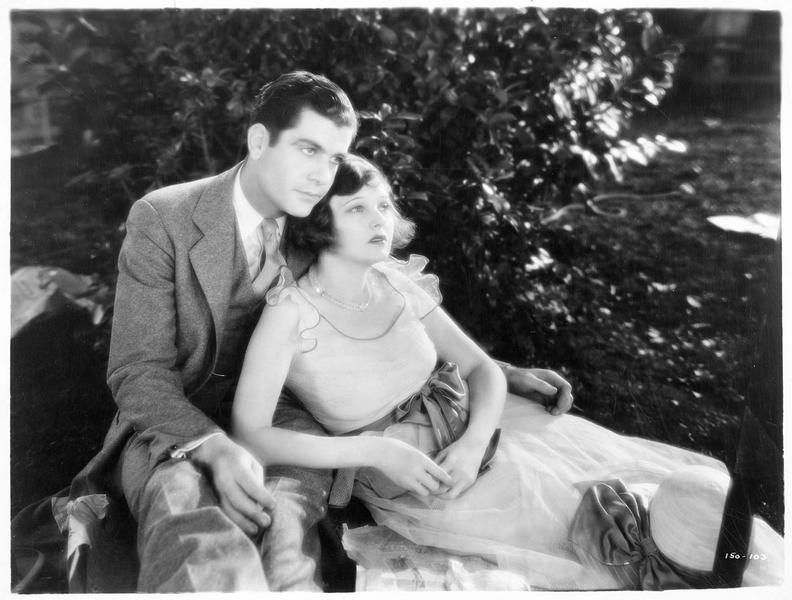 Portrait de Corinne Griffith et de Grant Withers