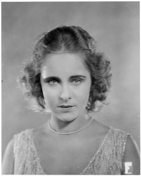 Portrait de Cilly Feindt dans le film 'Ein Mordmädel'