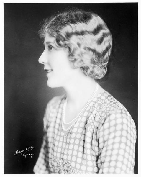Portrait de Mary Pickford