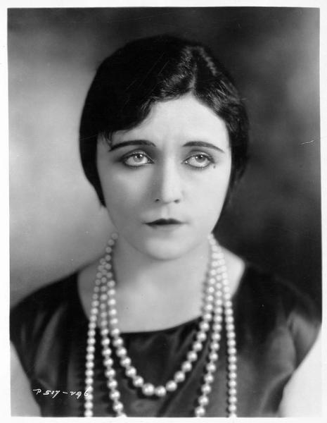 Portrait d'une actrice