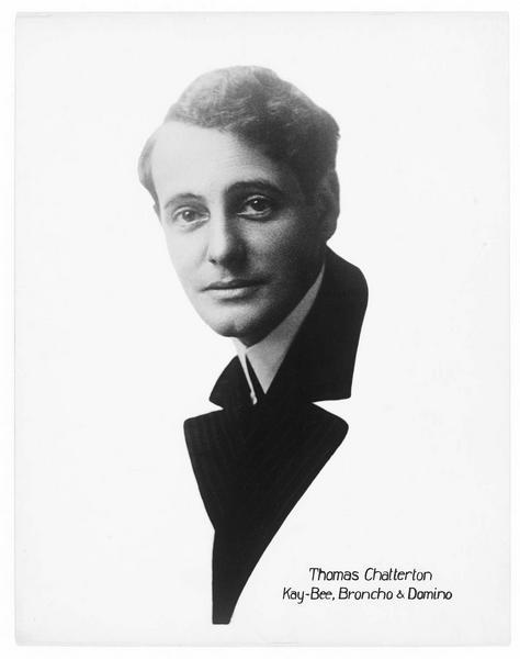Portrait de Thomas Chatterton