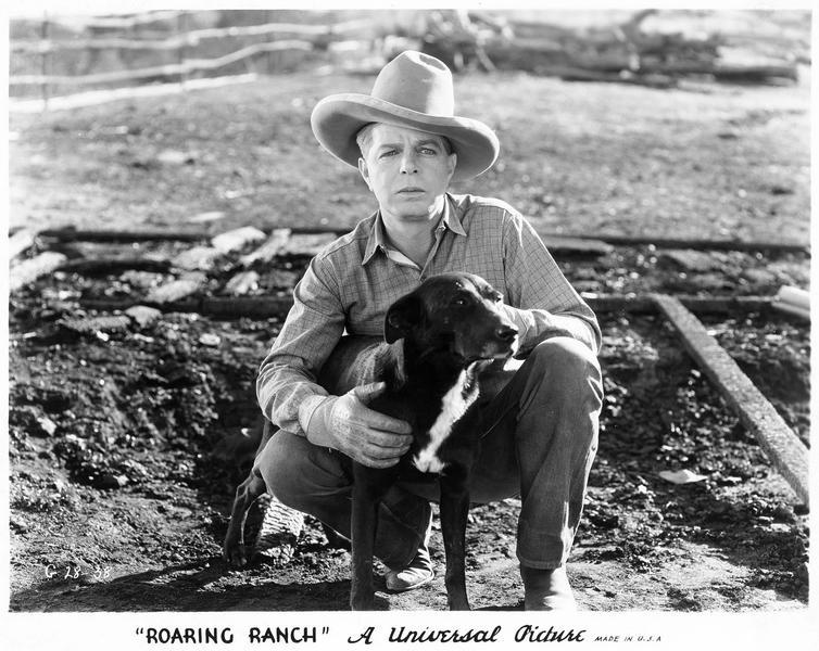 Jim Dailey (H. Gibson) et son chien