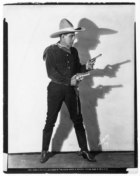Portrait de Jack Hoxie dans le rôle de Jack Wilbur