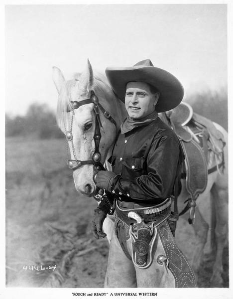 Ned Raleigh (J. Hoxie) et son cheval