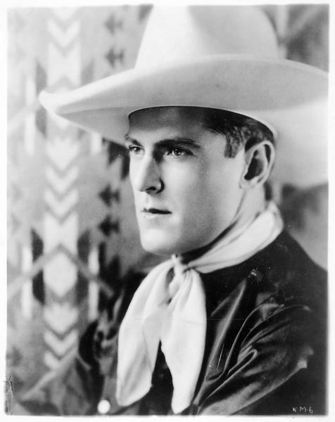 Portrait de Ken Maynard, le 'cow-boy étoile' de la First National