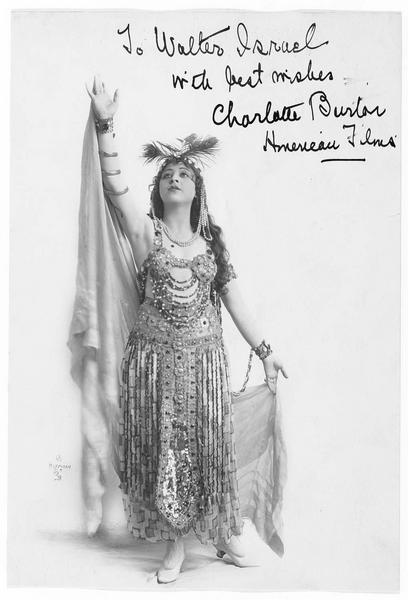 Portrait de Charlotte Burton
