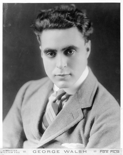 Portrait de George Walsh, frère de Raoul Walsh