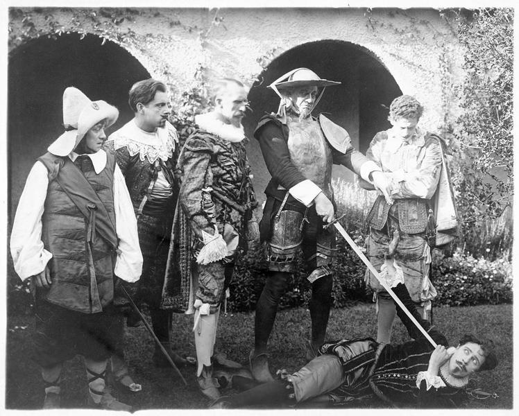 Sancho Panza (M. Davidson), Don Quixote (D. Hopper Sr), Don Fernando (C. Withey)