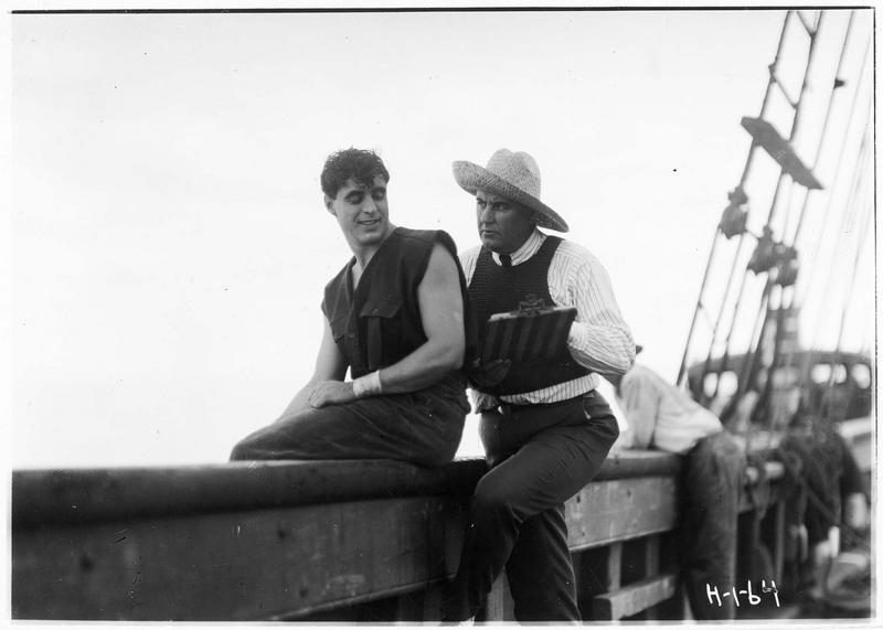 Shark Rawley (G. Walsh) sur le bateau