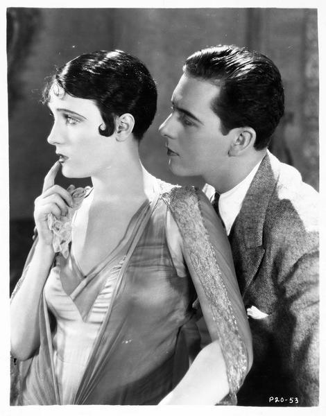 Portrait de Pauline Stark et Ben Lyon