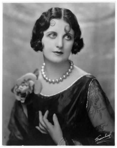 Portrait de Margarita Fisher dans le rôle d'Eliza