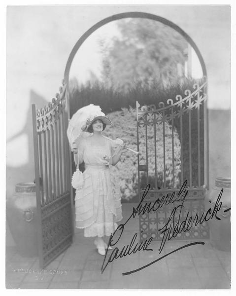 Portrait de Pauline Frederick