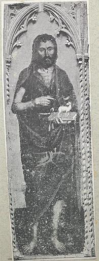 Tableau : Saint Jean Baptiste