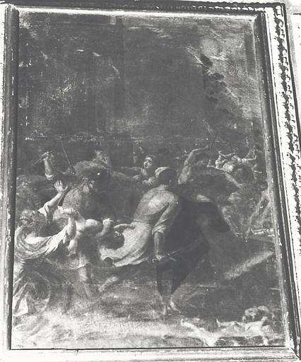 tableau, cadre : le Massacre des Innocents