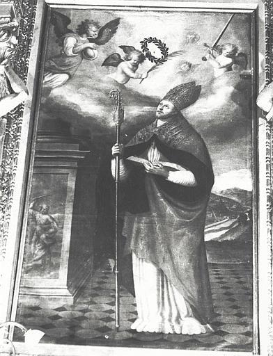 retable, tableau : Saint Pons de Cimiez