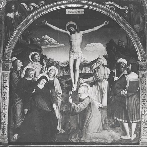 Retable, tableau : Crucifixion (la)