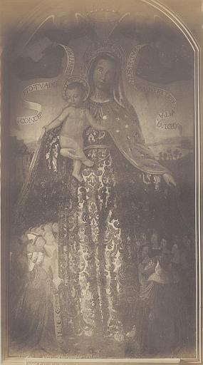 Tableau : Vierge de Miséricorde (la)