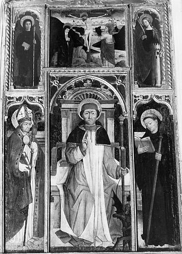 Retable de l'autel Saint-Maur