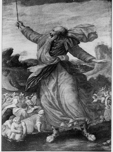 tableau : Manne tombant du ciel (la)