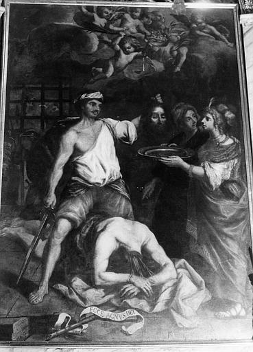 tableau : Décollation de saint Jean-Baptiste (la)