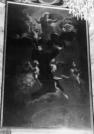 Tableau : Triomphe de saint Gaétan de Thiène (le)