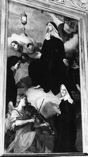 Tableau : Ravissement de sainte Julienne du Mont-Cornillon (le)