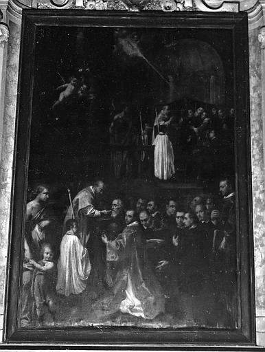 Tableau : Communion de saint Benoît (la)