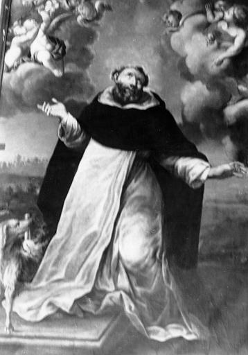 Tableau : saint Dominique en extase