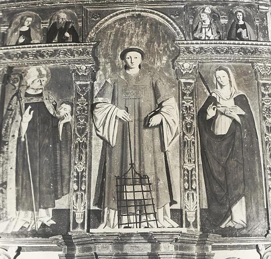 Triptyque de Saint-Laurent (maître-autel)