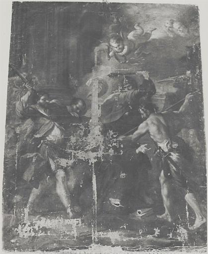 Tableau : Le Martyre de saint Hospice