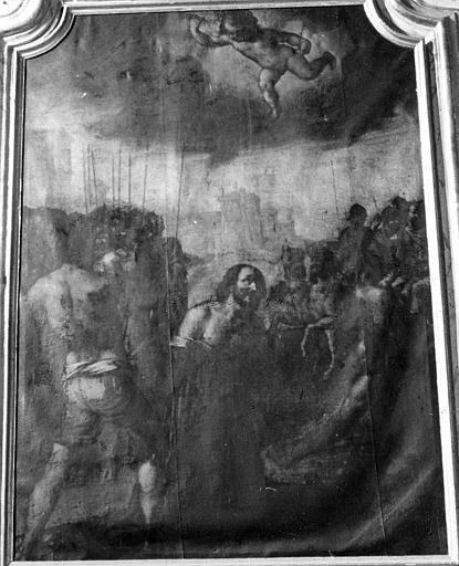 Tableau  : Martyre de saint Jacques (le)