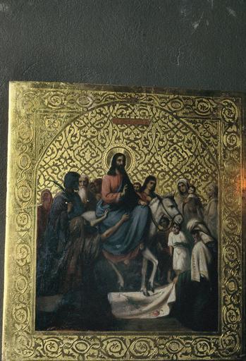 icône : Entrée du Christ à Jérusalem