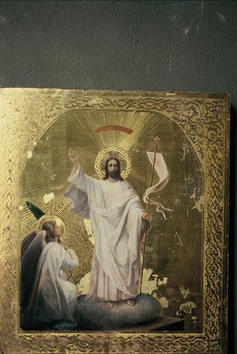 Icône : Résurrection du Christ