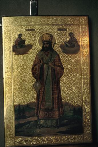 Icône : saint Dimitri, métropolite de Rostov