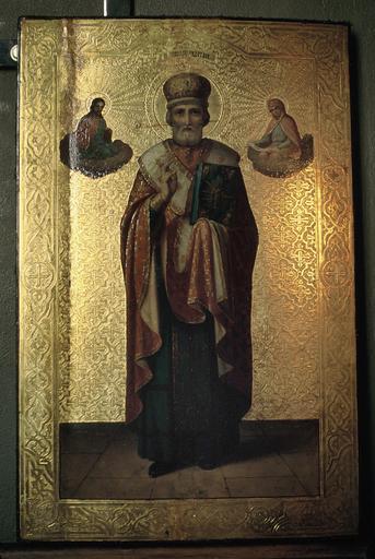 Icône : saint Nicolas le Thaumaturge