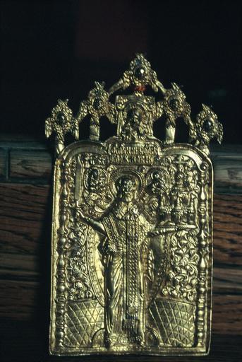 Icône de voyage : saint Nicolas de Mojaïsk