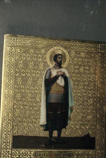 Icône : saint Alexandre Nevsky