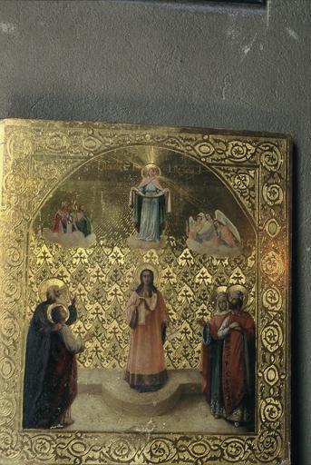 icône : La Protection de la Mère de Dieu