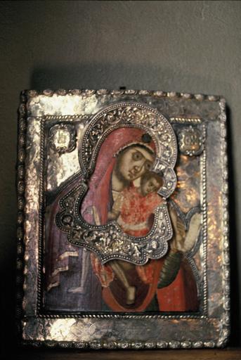 icône : La Mère de Dieu de Chypre