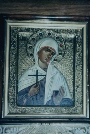 Icône : sainte Tatiana, mégalomartyre