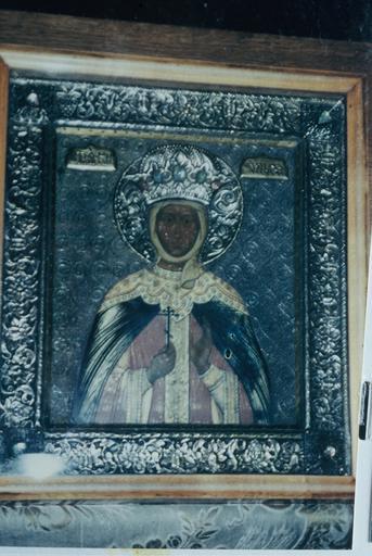 icône : sainte Olga, princesse de Russie