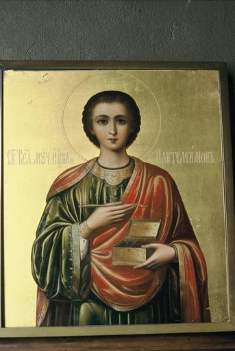Icône : saint Panteleïmon, mégalomartyr et thaumaturge