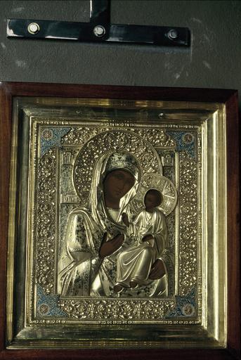 Icône : La Mère de Dieu Iverskaïa
