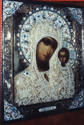 Icône de la Mère de Dieu de Kazan