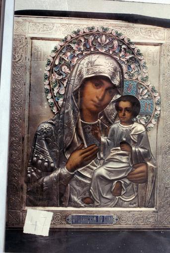 Icône : La Mère de Dieu de Tikhvin