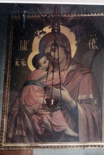 icône : La Mère de Dieu de Vladimir