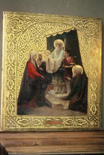 icône : La Sainte Rencontre ou Présentation de Jésus au Temple